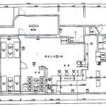 建物①1階平面図