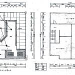 建物②1,2階平面図